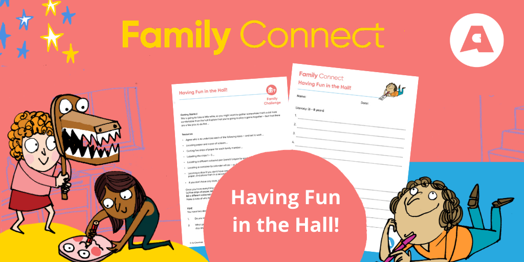 Having Fun in the Hall Family Connect Resource